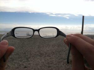 Looking at the Ocean through Glasses